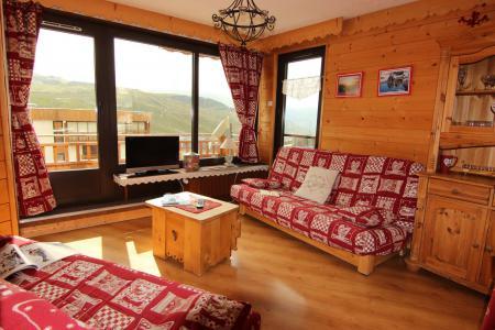 Location au ski Appartement 3 pièces 6 personnes (12) - Résidence Hauts de Chavière - Val Thorens - Banquette-lit