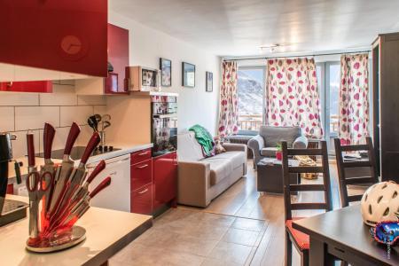 Location au ski Appartement 3 pièces 6 personnes (17) - Résidence Hauts de Chavière - Val Thorens - Séjour