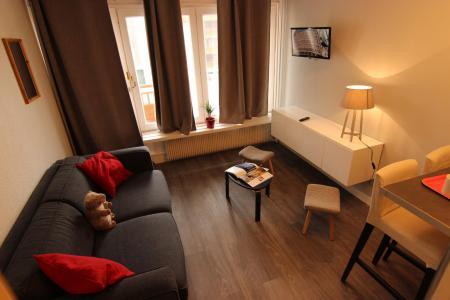 Location au ski Studio 3 personnes (2) - Résidence Hauts de Chavière - Val Thorens - Séjour