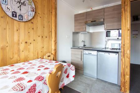 Location au ski Studio 4 personnes (10) - Résidence Hauts de Chavière - Val Thorens - Cuisine