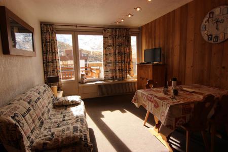 Location au ski Studio 4 personnes (10) - Résidence Hauts de Chavière - Val Thorens - Séjour