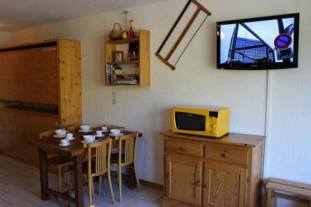 Location au ski Studio coin montagne 3 personnes (30) - Residence Hauts De Chaviere - Val Thorens - Mini-four
