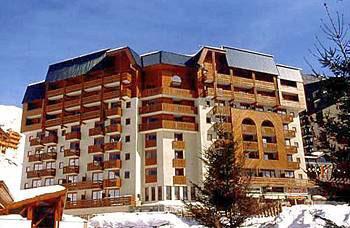 Location au ski Residence L'altineige - Val Thorens - Extérieur hiver