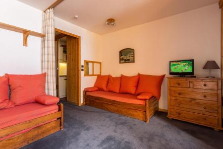 Location au ski Appartement 2 pièces 4 personnes (105) - Residence L'eskival - Val Thorens - Tv