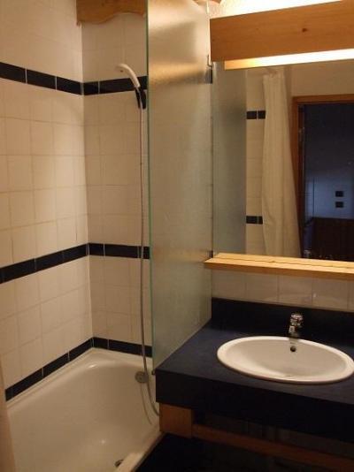 Location au ski Appartement 2 pièces 4 personnes (511) - Résidence l'Eskival - Val Thorens - Lavabo