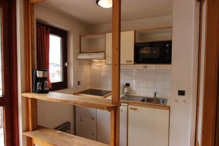Location au ski Appartement 2 pièces 4 personnes (603) - Residence L'eskival - Val Thorens - Extérieur hiver