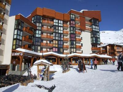 Location au ski Appartement 2 pièces 4 personnes (507) - Residence L'eskival - Val Thorens - Extérieur hiver