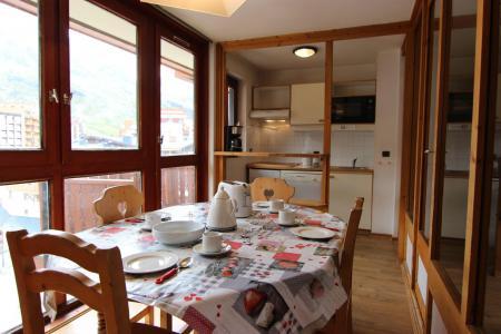 Location au ski Appartement 2 pièces 4 personnes (603) - Residence L'eskival - Val Thorens - Plan