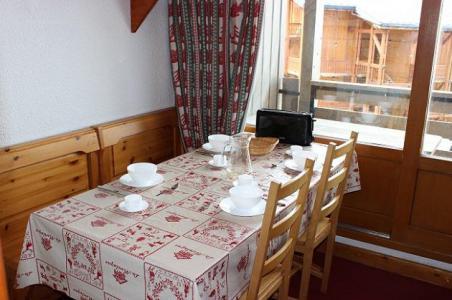Location au ski Appartement 2 pièces 4 personnes (18) - Résidence l'Orsière - Val Thorens - Séjour