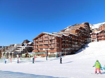 Vacances en montagne Résidence le Cheval Blanc - Val Thorens - Extérieur hiver
