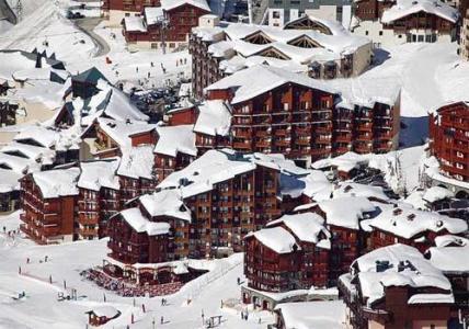 Location au ski Residence Le Cheval Blanc - Val Thorens - Extérieur hiver