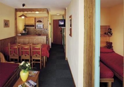 Location au ski Residence Le Cheval Blanc - Val Thorens - Kitchenette