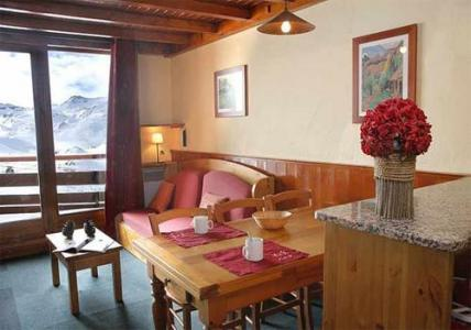 Location au ski Residence Le Cheval Blanc - Val Thorens - Coin repas