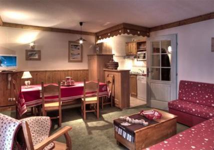 Location au ski Residence Le Cheval Blanc - Val Thorens - Séjour