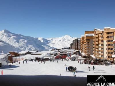Location au ski Appartement 4 pièces 8 personnes (011) - Residence Le Diamant - Val Thorens - Extérieur hiver