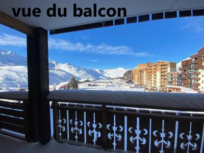 Location au ski Appartement 4 pièces 8 personnes (021) - Residence Le Diamant - Val Thorens - Extérieur hiver