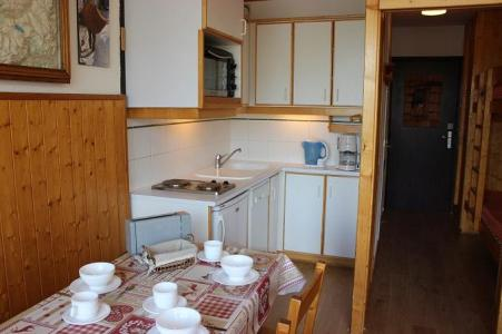 Location au ski Studio 3 personnes (112) - Residence Le Dome De Polset - Val Thorens - Kitchenette