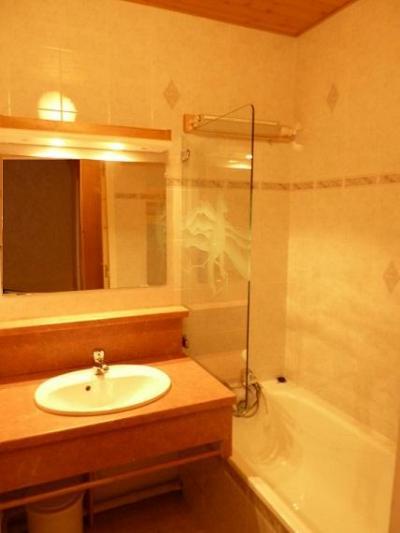 Location au ski Studio 3 personnes (112) - Residence Le Dome De Polset - Val Thorens - Salle de bains