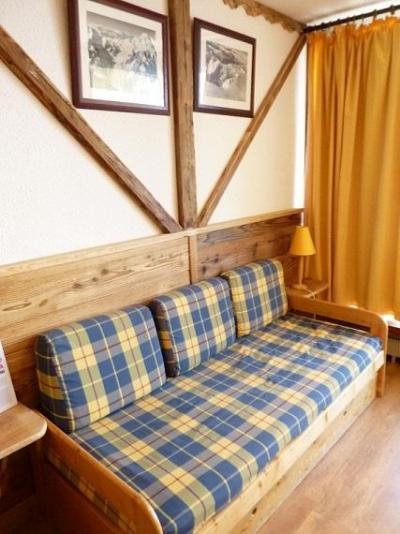 Location au ski Studio 3 personnes (607) - Résidence le Dôme de Polset - Val Thorens - Canapé