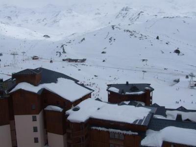 Location au ski Studio 3 personnes (25) - Residence Le Joker - Val Thorens - Extérieur hiver