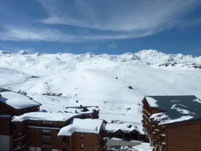 Location au ski Studio cabine 4 personnes (8) - Residence Le Joker - Val Thorens - Extérieur hiver