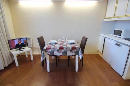 Location au ski Studio 2 personnes (12) - Résidence le Joker - Val Thorens - Cuisine