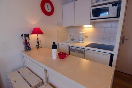 Location au ski Studio cabine 4 personnes (13) - Residence Le Joker - Val Thorens - Kitchenette