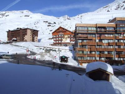Location au ski Studio 4 personnes (609) - Residence Le Lac Blanc - Val Thorens - Extérieur hiver