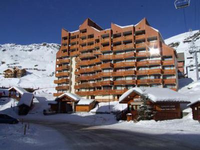 Location au ski Résidence le Lac du Lou - Val Thorens - Extérieur hiver