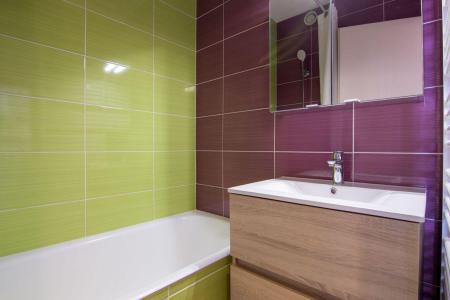 Location au ski Appartement 2 pièces 6 personnes (307) - Residence Le Lac Du Lou - Val Thorens - Lavabo