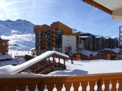 Location au ski Appartement 2 pièces 5 personnes (101) - Residence Le Lac Du Lou - Val Thorens - Terrasse
