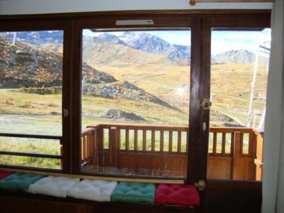 Location au ski Studio 4 personnes (02) - Residence Le Roc De Peclet 1 - Val Thorens - Balcon