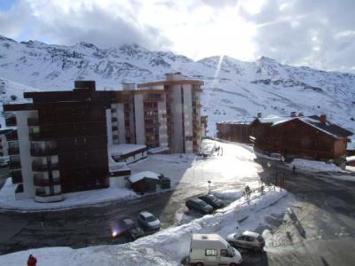 Location au ski Studio cabine 4 personnes (L4) - Residence Le Serac - Val Thorens - Extérieur hiver