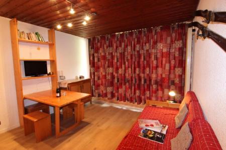 Location au ski Studio 2 personnes (B9) - Résidence le Sérac - Val Thorens - Canapé