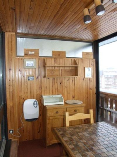 Location au ski Studio 3 personnes (E5) - Résidence le Sérac - Val Thorens - Séjour