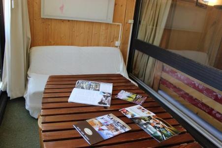 Location au ski Studio 3 personnes (H6) - Residence Le Serac - Val Thorens - Séjour