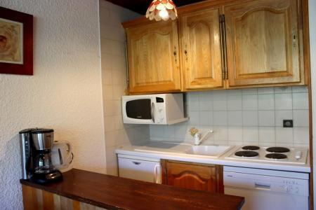 Location au ski Studio 3 personnes (O6) - Residence Le Serac - Val Thorens - Kitchenette