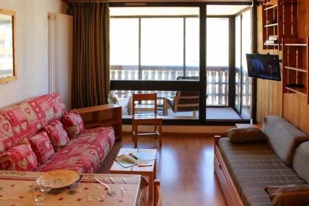 Location au ski Studio cabine 4 personnes (J4) - Résidence le Sérac - Val Thorens - Canapé