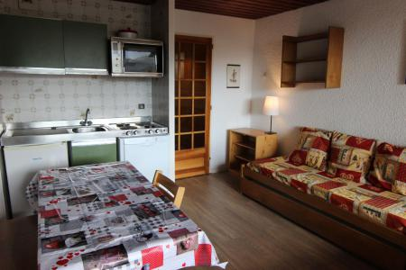 Location au ski Studio cabine 4 personnes (M7) - Residence Le Serac - Val Thorens - Kitchenette