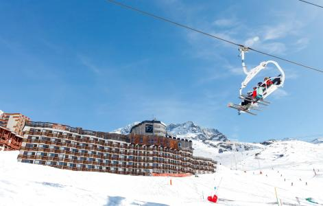 Location au ski Résidence le Tourotel - Val Thorens - Extérieur hiver