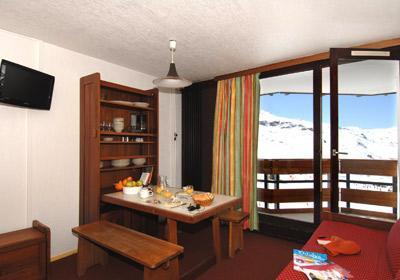 Location au ski Residence Le Tourotel - Val Thorens - Coin repas