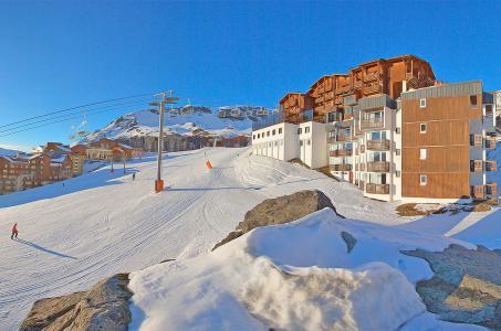 Location au ski Résidence le Val Chavière - Val Thorens - Extérieur hiver