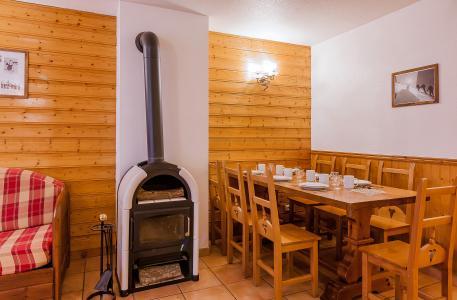 Location au ski Résidence le Val Chavière - Val Thorens - Coin repas
