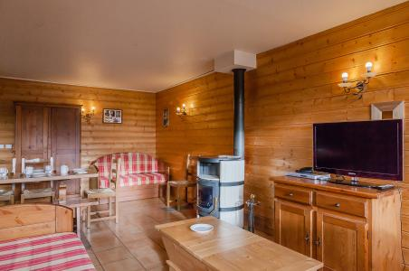 Location au ski Résidence le Val Chavière - Val Thorens - Tv à écran plat