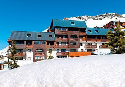 Location au ski Residence Le Valset - Val Thorens - Extérieur hiver