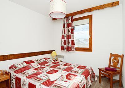 Location au ski Residence Le Valset - Val Thorens - Chambre