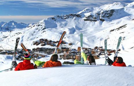 Location au ski Studio 3 personnes (63) - Résidence le Zénith - Val Thorens