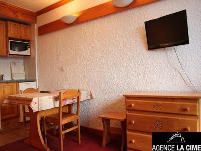 Location au ski Studio 2 personnes (103) - Residence Les Hauts De La Vanoise - Val Thorens - Lavabo