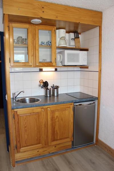 Location au ski Studio 2 personnes (101) - Residence Les Hauts De Vanoise - Val Thorens - Kitchenette