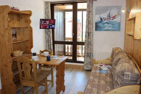 Location au ski Studio 2 personnes (101) - Residence Les Hauts De Vanoise - Val Thorens - Séjour